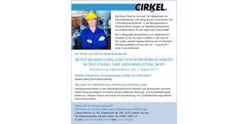 Verfahrensmechaniker in der Steine- und Erdenindustrie Fachrichtung Kalksandstein