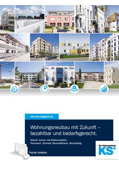 Wohnungsneubau mit Zukunft - bezahlbar und bedarfsgerecht