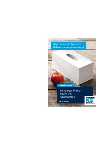 Kompaktes Wissen - Bauen mit Kalksandstein