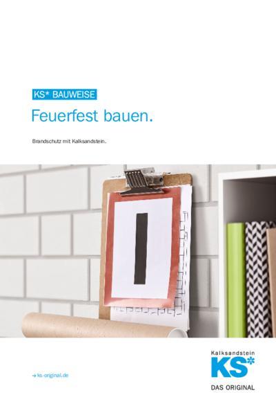 KS* BAUWEISE - Feuerfest bauen.