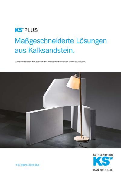 KS-PLUS Maßgeschneiderte Lösungen aus Kalksandstein