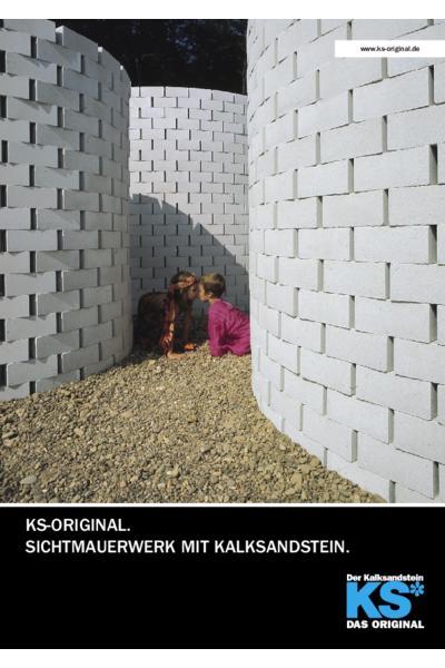 Sichtmauerwerk mit Kalksandstein