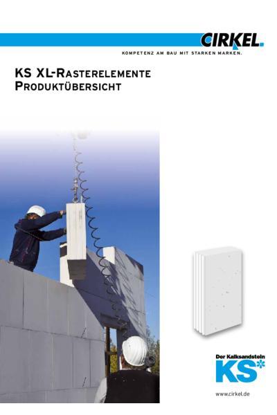 KS XL-Rasterelemente Produktübersicht