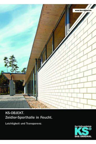 KS-Objekt - Ziedler-Sporthalle in Feucht
