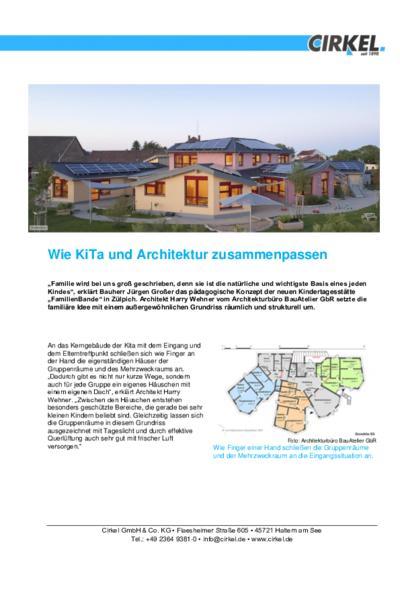Wie KiTa und Architektur zusammenpassen