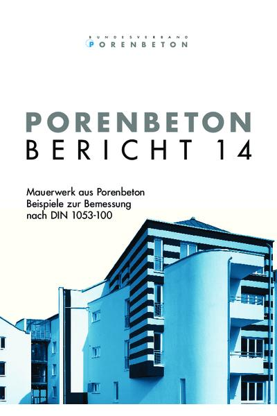 Porenbeton - Bericht 14