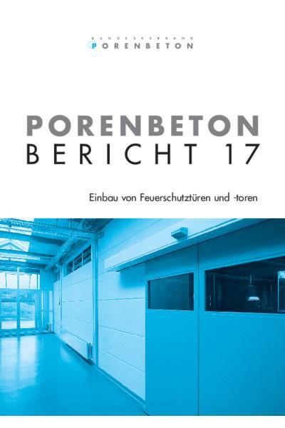 Porenbeton - Bericht 17