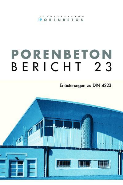 Porenbeton - Bericht 23