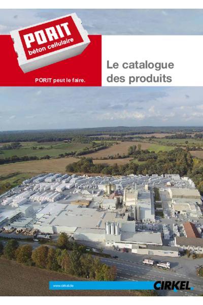Le catalogue des produits - France