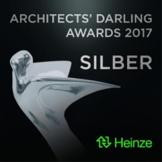 KS* ist Preisträger des Architects´ Darling 2017 in Silber.