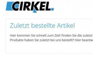 """5. Newsletter zum Kundenportal """"Mein Cirkel"""""""