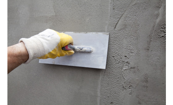 Light lime cement plaster products and VWS adhesive mortar