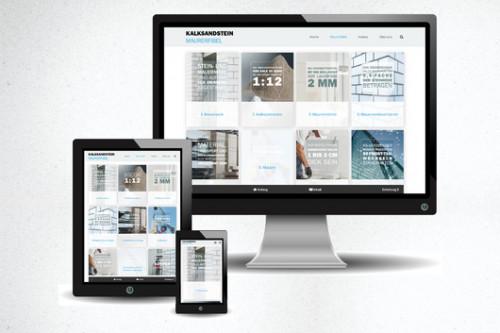 """Die neue Online-Anwendung www.ks-maurerfibel.de wurde im Prinzip """"mobile first"""" entwickelt. Durch die responsive Programmierung passt sich die Seite aber auch automatisch allen anderen Bildschirmgrößen an."""